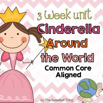 cinderella around the world fairy tale unit fairy tales lesson ideas. Black Bedroom Furniture Sets. Home Design Ideas