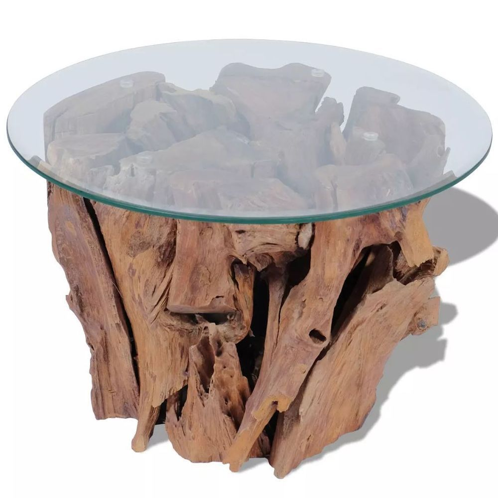 Natural Wood Coffee Table Solid Teak Driftwood Base Rustic Home Living Furniture Generic Rust Driftwood Coffee Table Solid Coffee Table Pedestal Coffee Table [ 1000 x 1000 Pixel ]