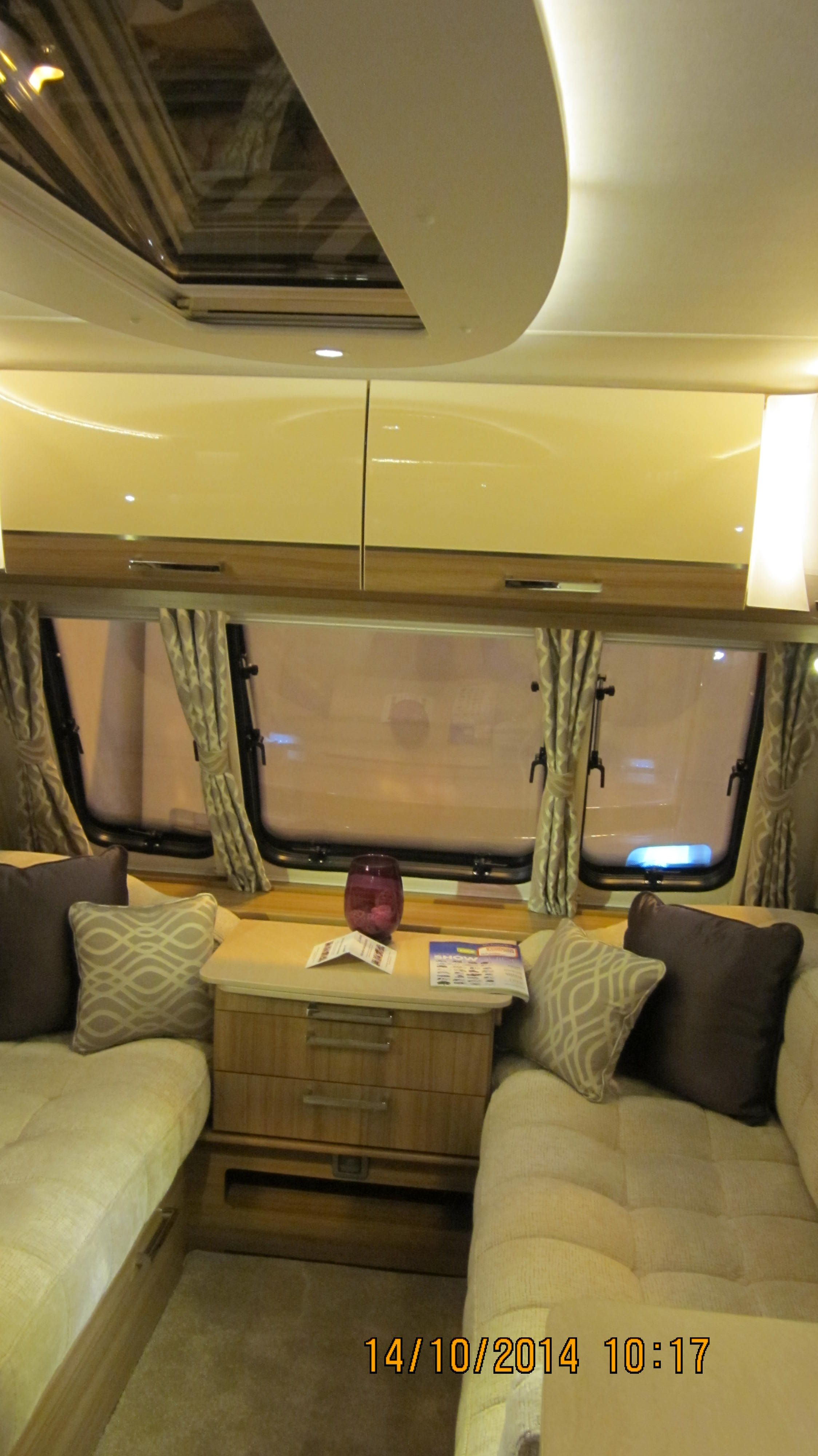 Lunar Delta Rs Looking To Front Of Caravan Light Coloured