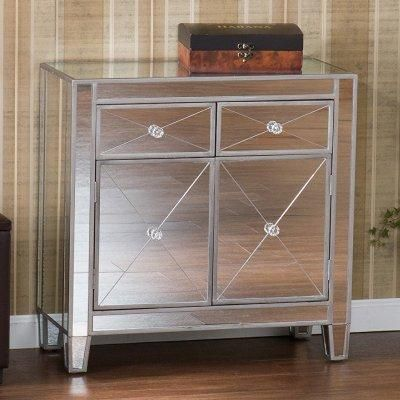 I like mirrored nightstands