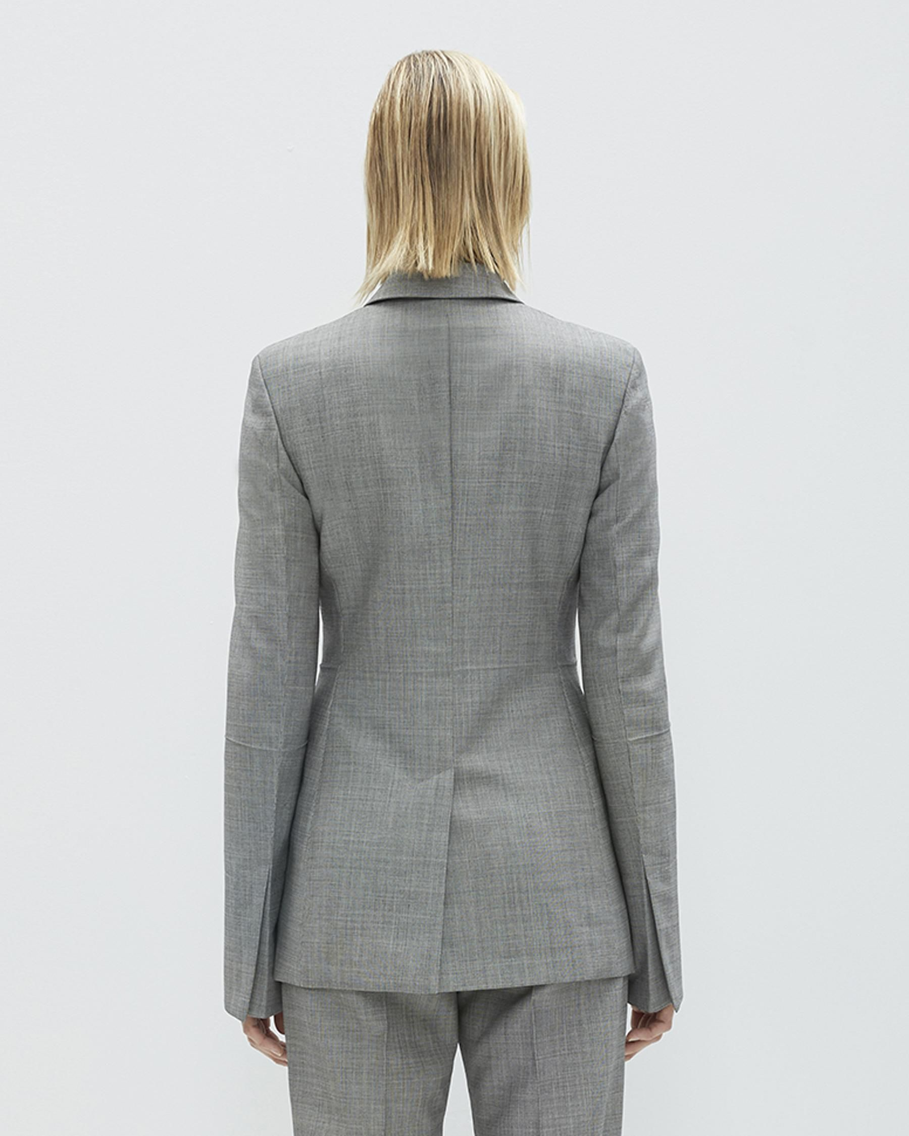 8454c62b8bbb4 DOUBLE BREASTED MOHAIR WOOL BLAZER
