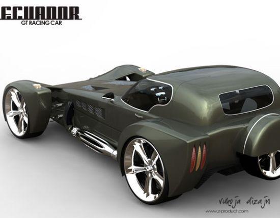 2008 Bentley Ecuador GT racing concept