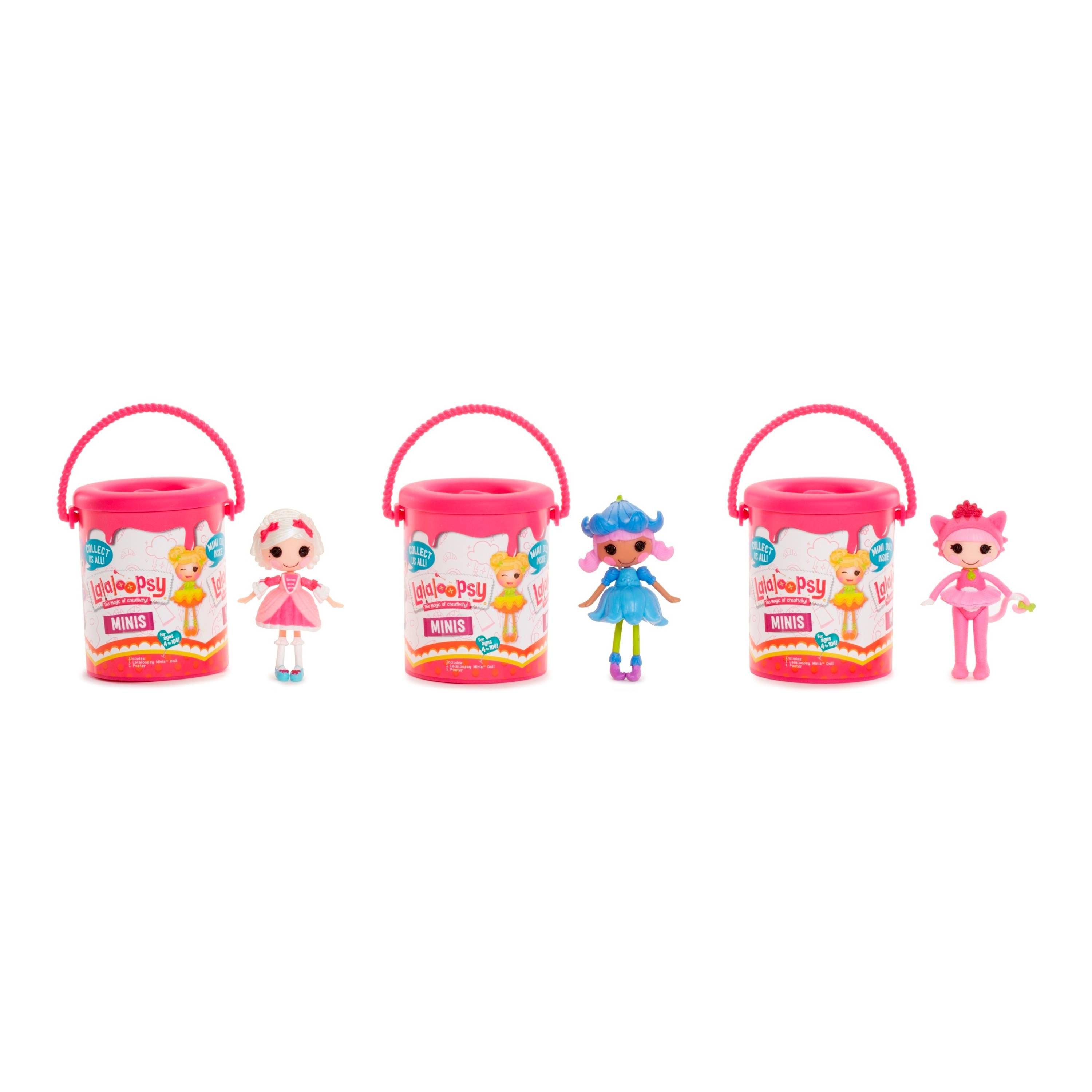 Mini Lalaloopsy Surprise Mystery Paint Can Series 2! One Mystery Paint Can