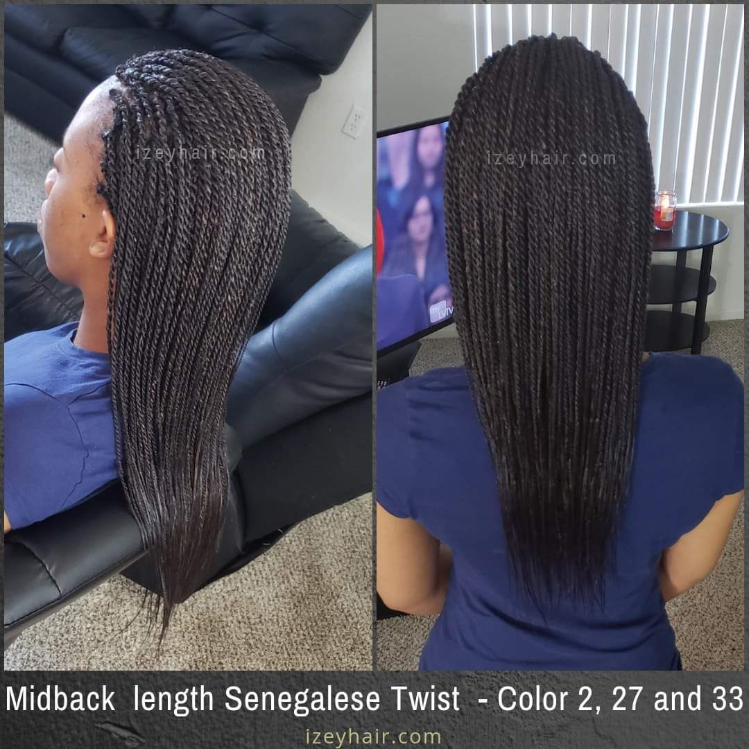 44++ Box braids mid back length trends