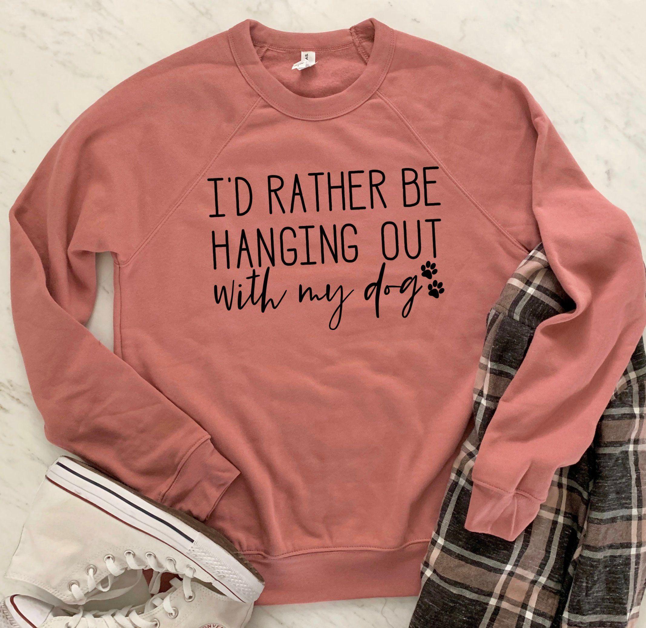 e2b3f5db WITH MY DOG, T Shirt, Acid Wash, Lightweight Pullover or Sweatshirt,  Unisex, Dog Mom Shirt, I Love My Dog Shirt, Dog Dad Shirt, Dog Lover by  happytops on ...