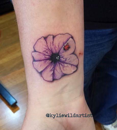 Petunia Tattoo Designs Pin Petunia A Tattoo That On Pinterest Petunia Tattoo Tattoos Purple Petunias