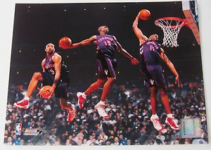 Vince Carter 8x10 Licensed Photo Multi Exposure Slam Dunk Ebay Love And Basketball Basketball Pictures Warmup