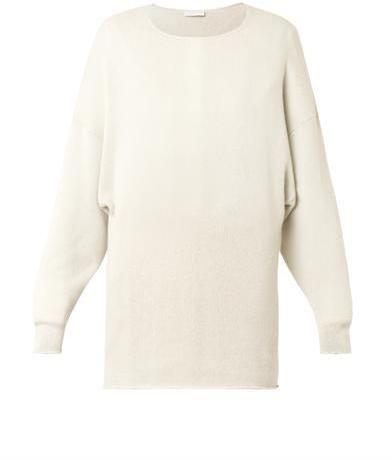 Chloé Round-neck cashmere sweater on shopstyle.co.uk