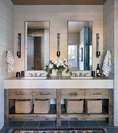Top 70 Best Bathroom Vanity Ideas Unique Vanities And Countertops Best Bathroom Vanities Rustic Lake Houses Amazing Bathrooms
