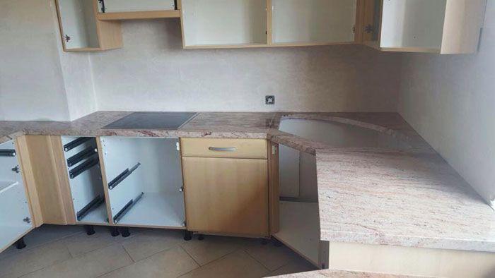 Wunderschöne #Granit #Arbeitsplatte, #Ivory #Brown   #Shivakashi - arbeitsplatten granit küche