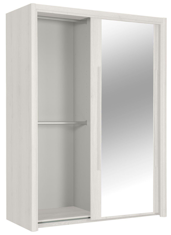 299 conforama armario 2 puertas correderas con espejo 153