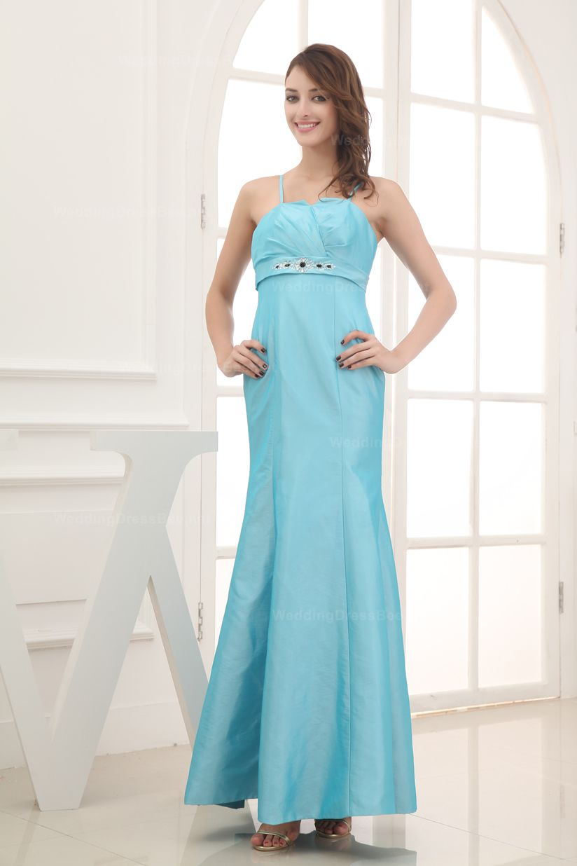 Slight v-neck taffeta mermaid romantic dress for girls,$128.98 Hot ...