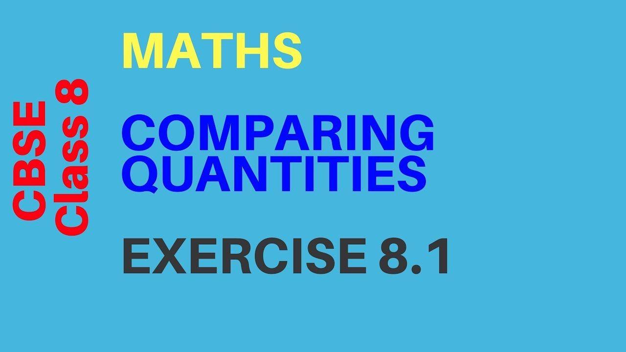 Cbse Class 8 Maths Comparing Quantities Exercise 8 1 A2r Education Class 8 Math 8 Math [ 720 x 1280 Pixel ]