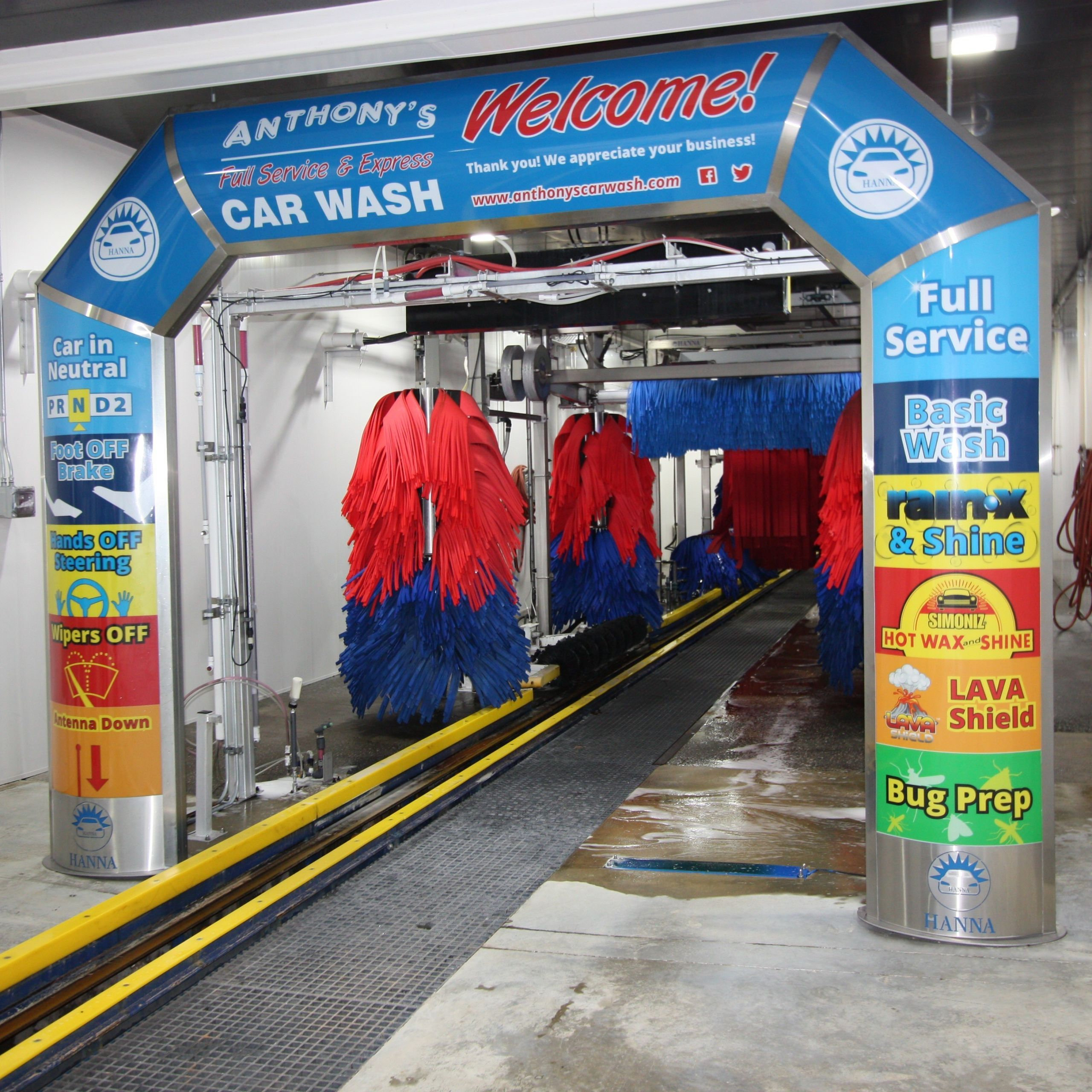 Car Wash Near Me New Tunnels - Coleman Hanna Carwash ...