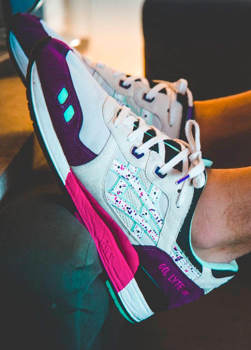 newest 13258 277ed Asics Gel Lyte III x Colette x La MJC   Sneakers   Asics gel ...