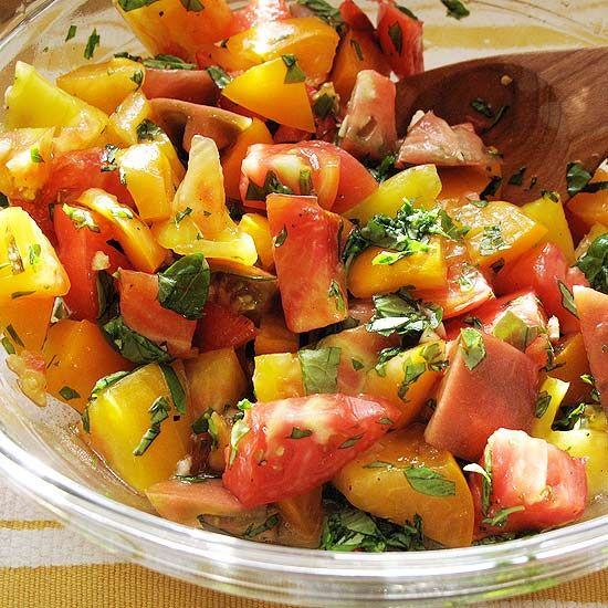 how to cook with fresh tomatoes