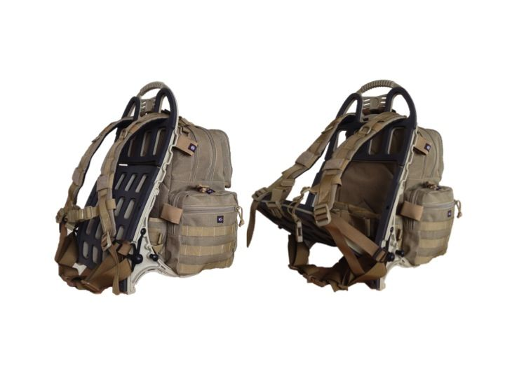 G.P.S. Tactical Range Backpack on the Pack Mule Frame. Awesome range ...