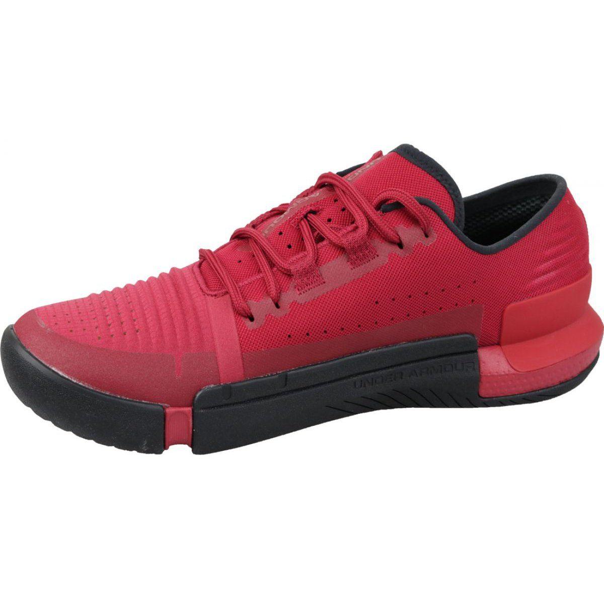 Buty Treningowe Under Armour Tribase Reign M 3021289 600 Czerwone Under Armor Training Shoes Sports Footwear