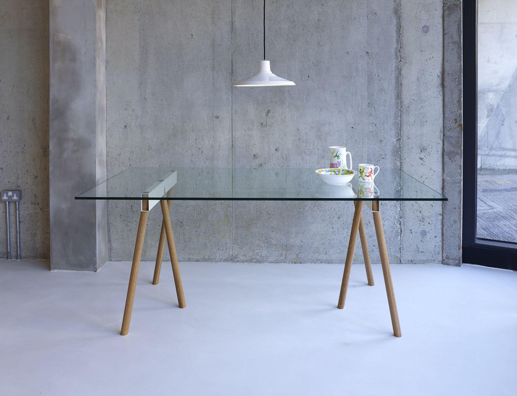 Crosscut table Faudet-Harrison | SCP | Office desks | Pinterest ...