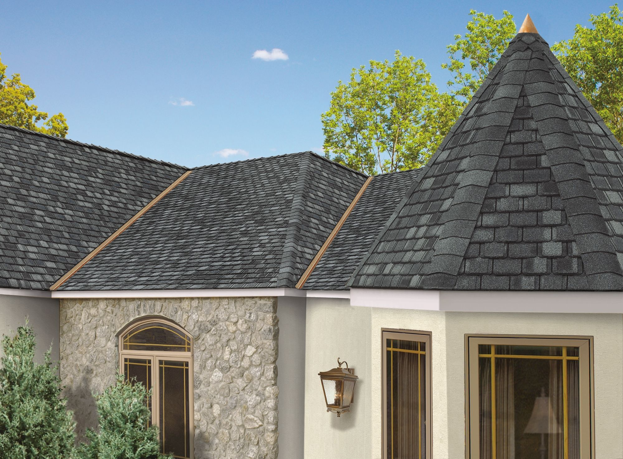 Quality roofing job begins before the shingles go on home remodeling - See Photos Of Camelot Shingles Beautifully Installed On Typical American Homes Browse Our Full Photo Gallery Of Designer Shingles