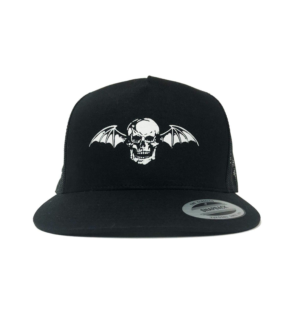 d3e10b94 Deathbat Trucker Hat in 2019 | Accessories | Hats, Beanie, Snapback