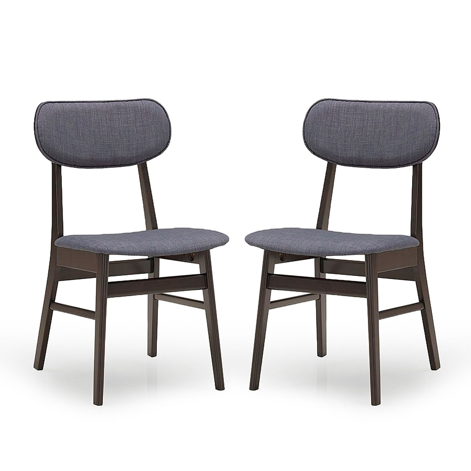 Cheap Wood Dining Chairs: Cheap! Baxton Studio Montreal Mid-century Solid Wood
