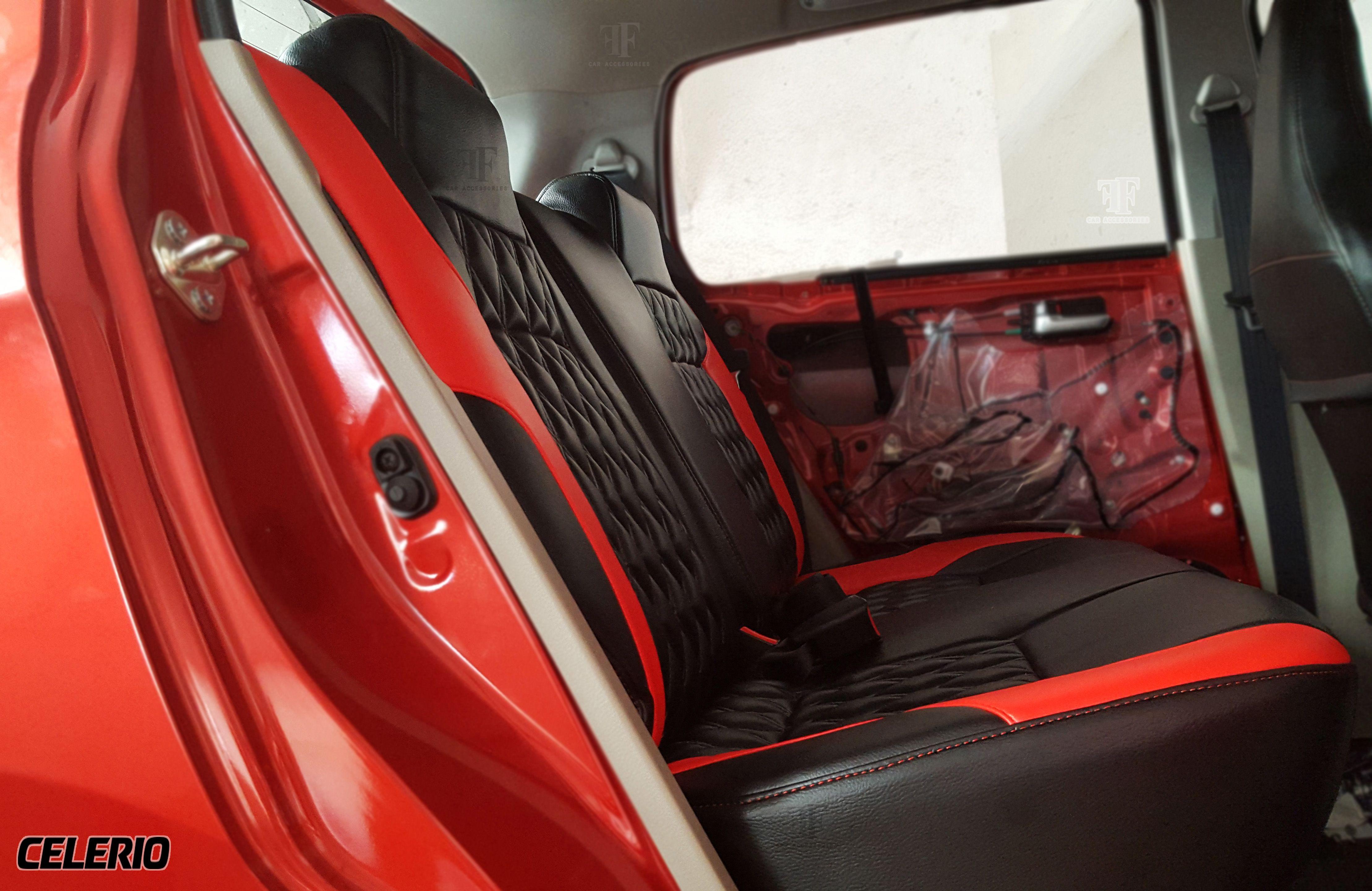 We do customised seat cover, Door pad, Floor matt