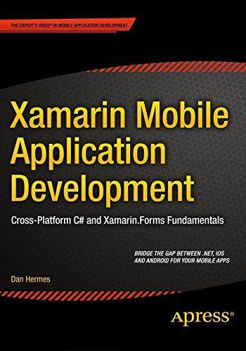 PDF Download Xamarin Mobile Application Development Cross