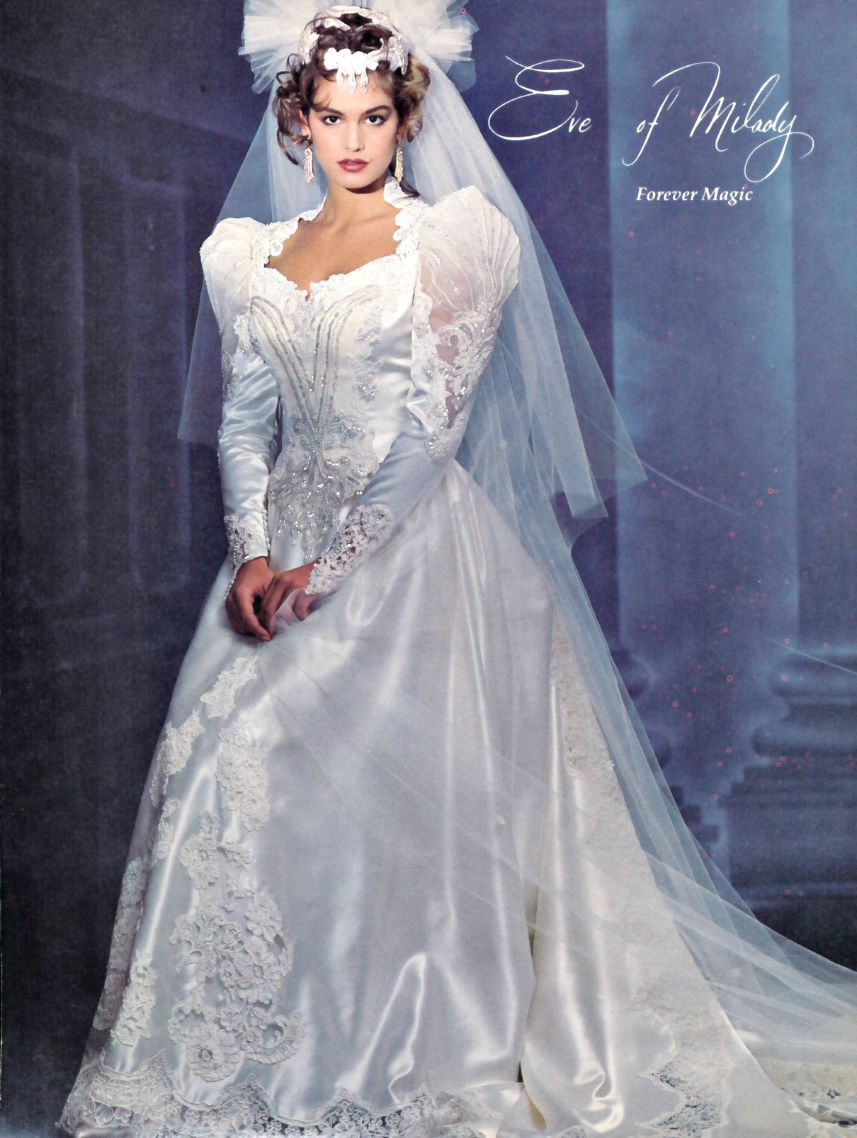 Cindy Crawford Wedding Dress Gorgeous Wedding Dress Beautiful