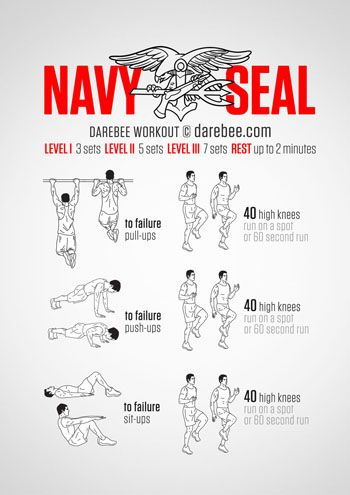Visual Workouts Navy Seal Workout Military Workout Superhero Workout