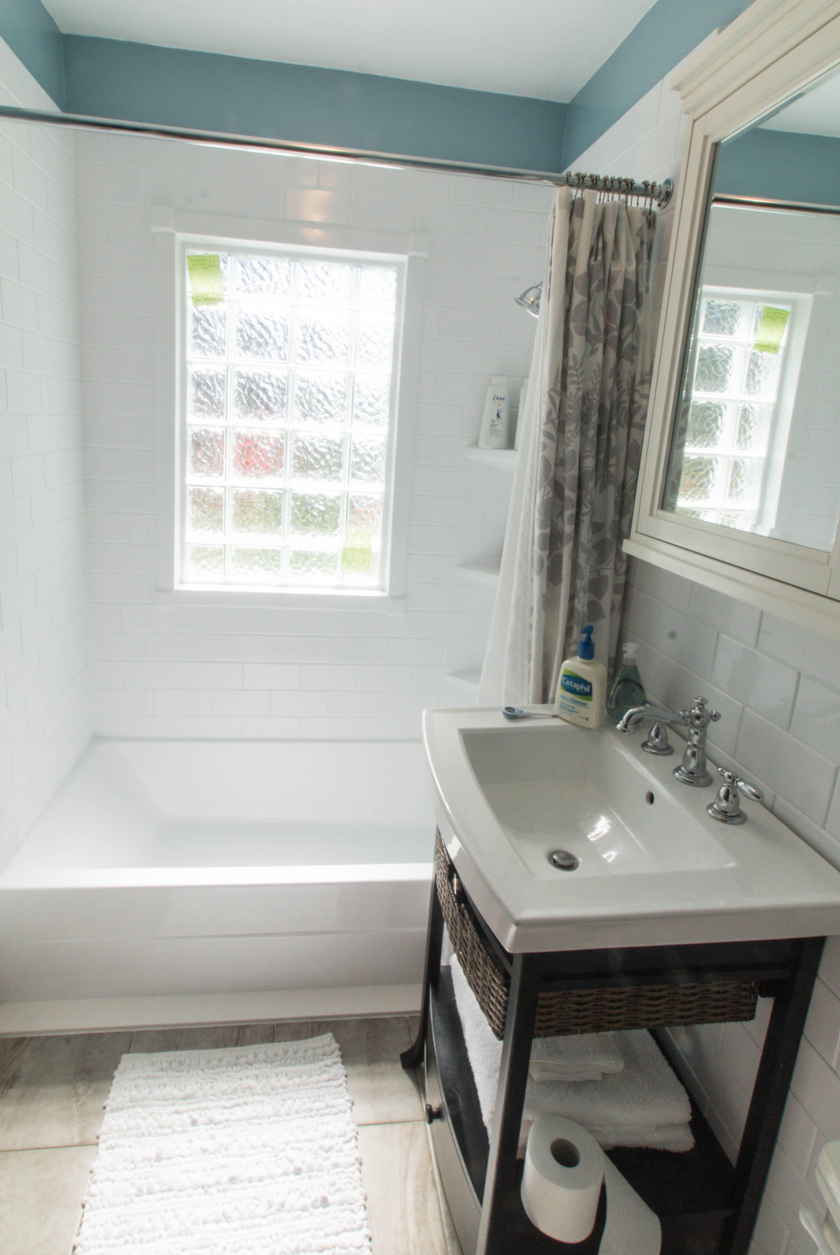 small bathroom #remodel done by Re-Bath Omaha in DuraBath ...
