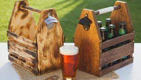 Como fazer um engradado de cerveja de madeira #caixasdemadeira