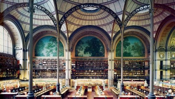 Bibliotheque Nationale by Henri Labrouste