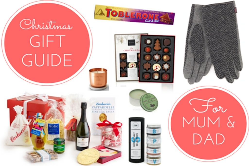 Christmas gift ideas for mum and dad