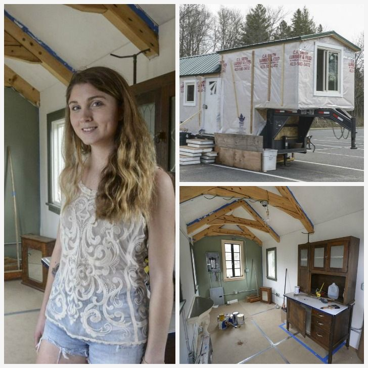A College Senior Is Building This Fifth Wheel Tiny House