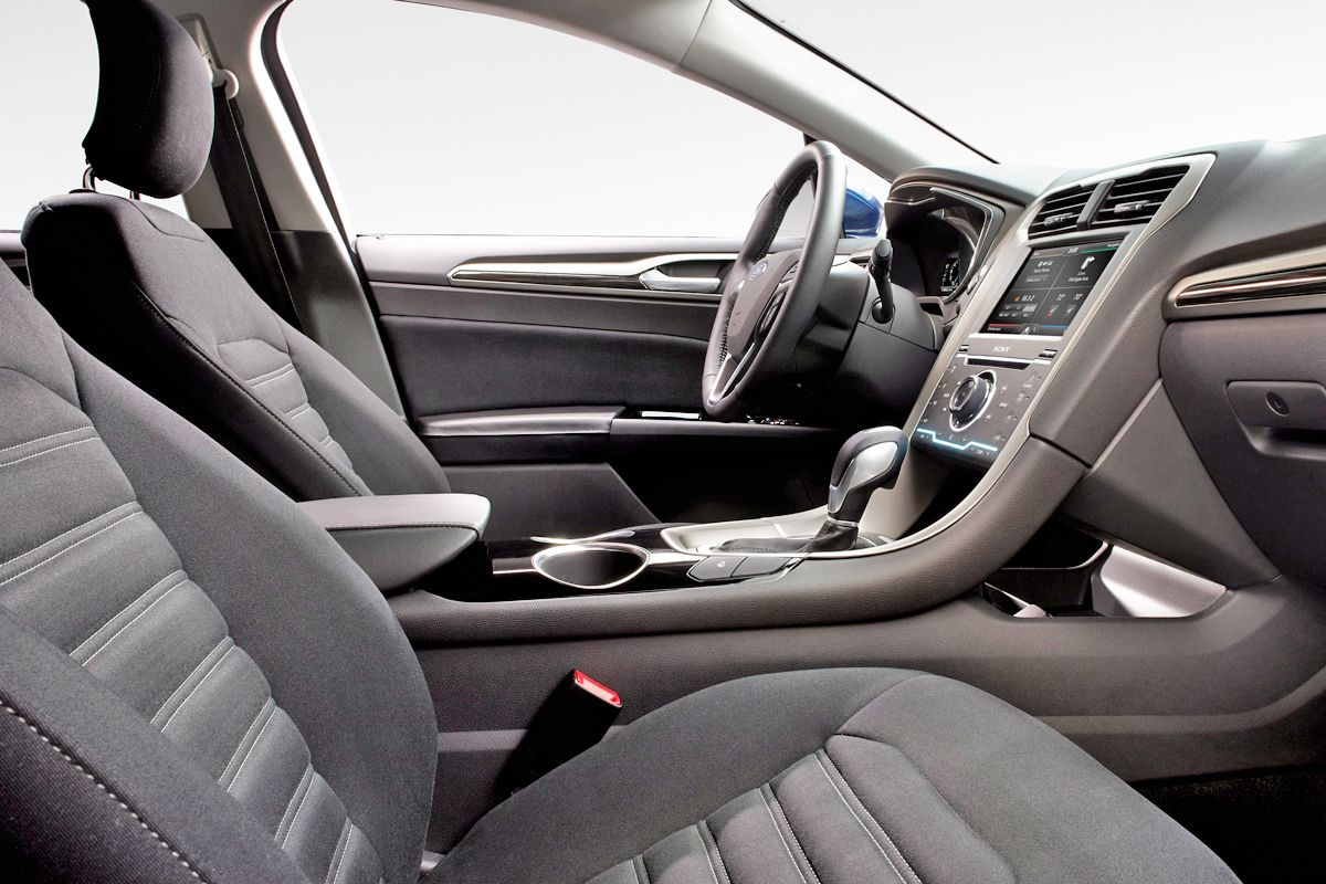 Image Detail For  2013 Ford Fusion Interior