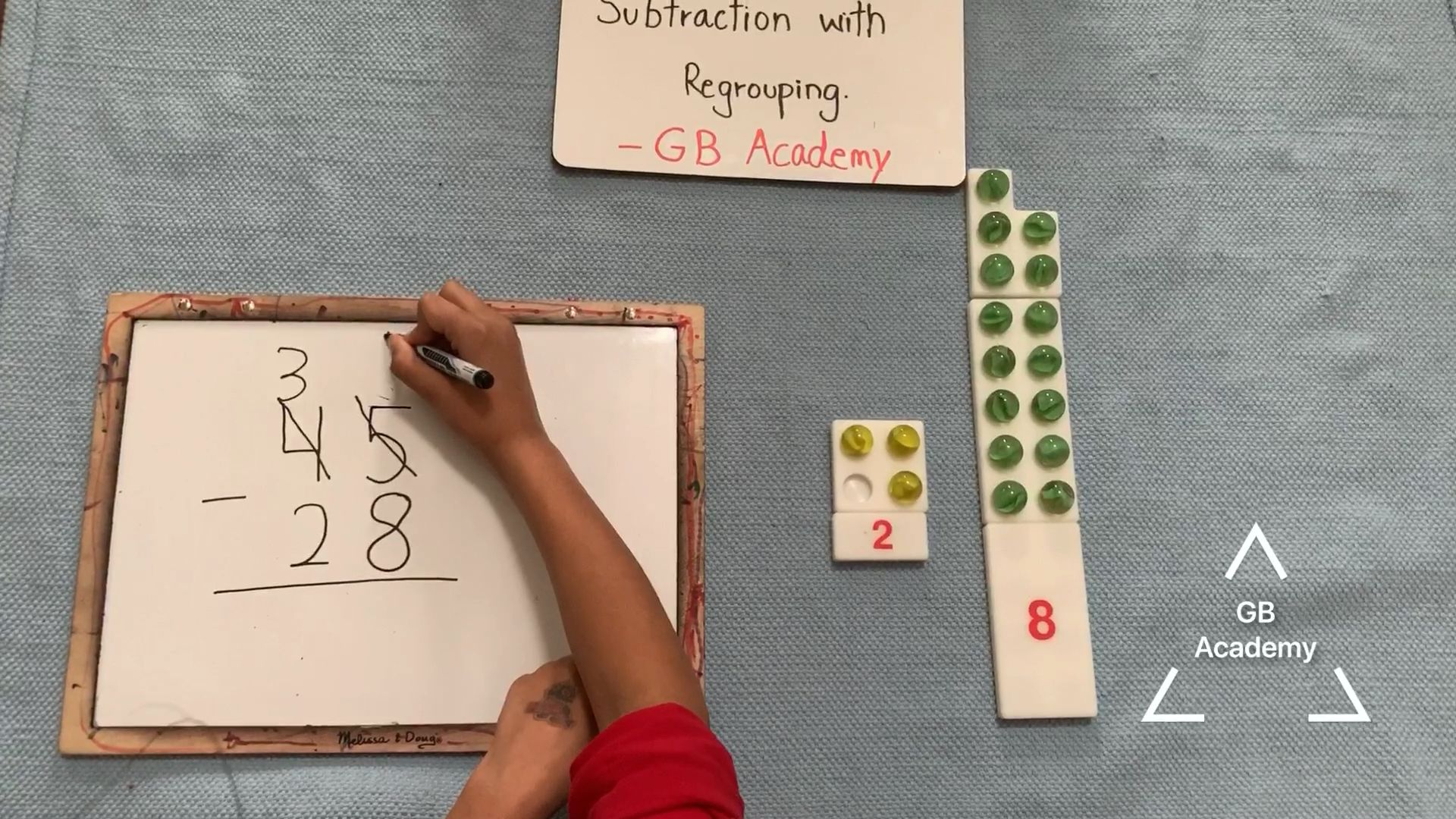 Subtraction With Re Grouping Firstgrade Math