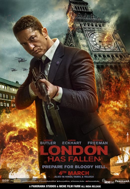 Click To View Extra Large Poster Image For London Has Fallen