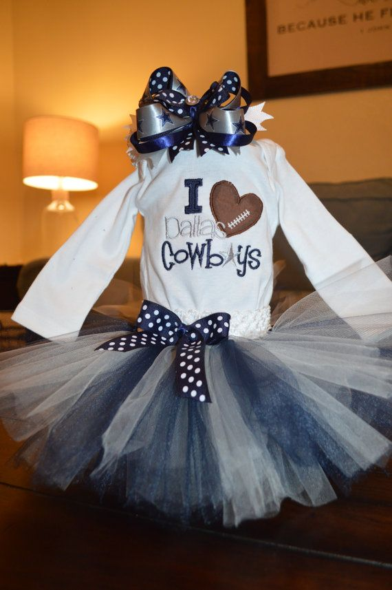 Dallas Cowboys baby girl gift set Dallas by GoodnessGrayson ...