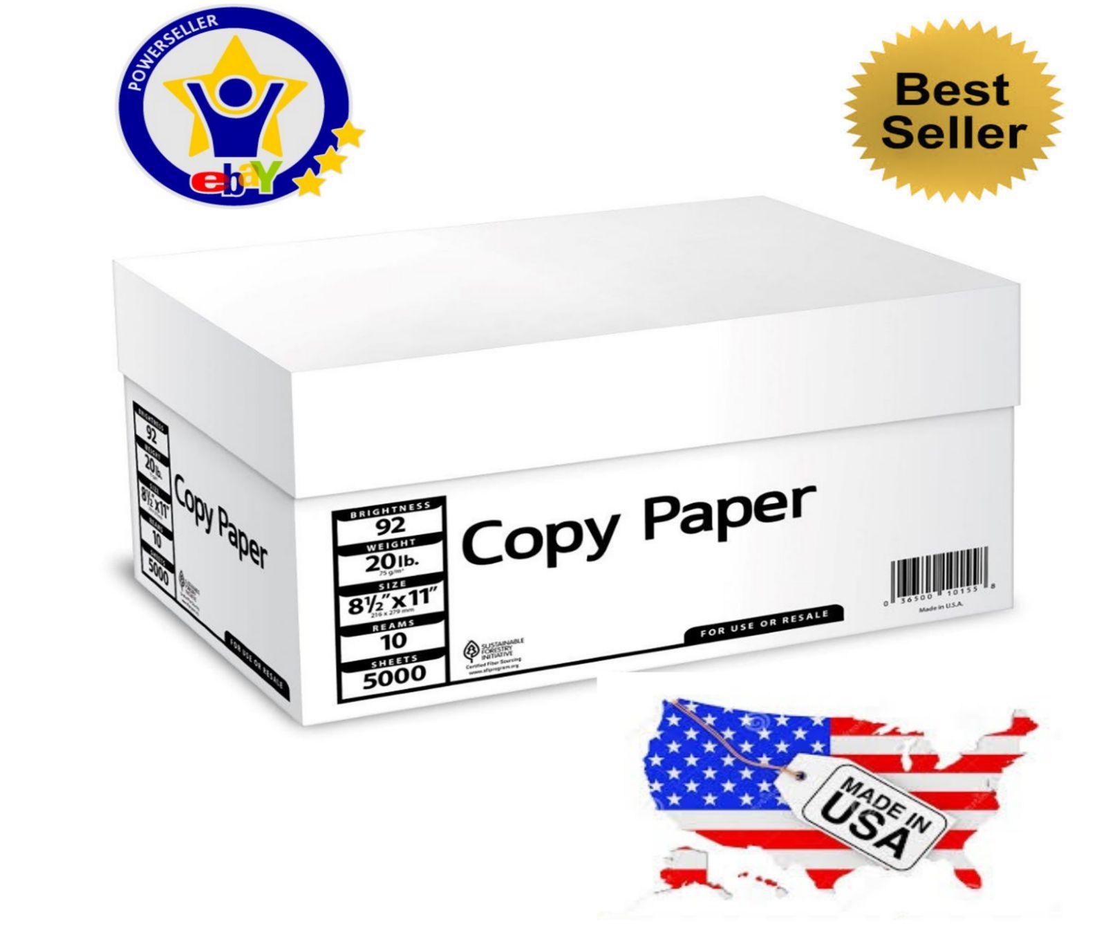 Printer Paper 86728 5000 Sheets Multipurpose Printer Copy Paper