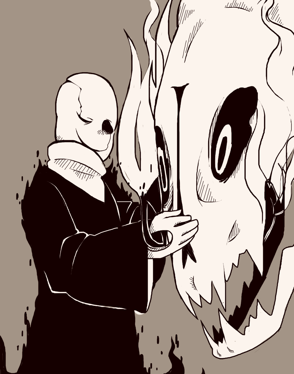 The Father And His Creation Undertale Fanart Undertale Undertale Cute