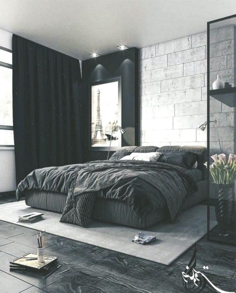 50 Men S Bedroom Ideas Masculine Interior Design Inspiration 26 Schlafzimmerideen Masculine Interior Design Luxury Bedroom Master Minimalist Bedroom Design
