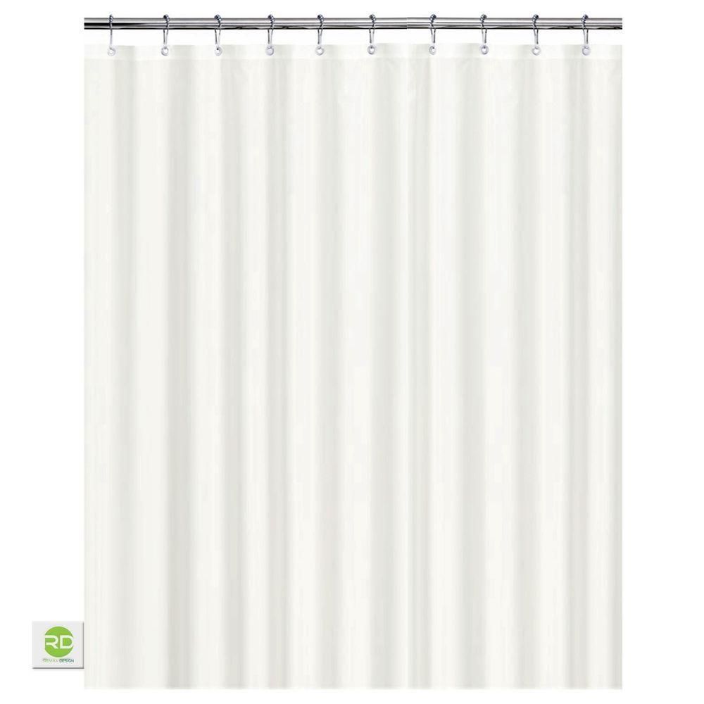 shower curtain shower environmentally friendly. White Shower Curtain, 100 % Waterproof \u0026 Eco-friendly Large Size, Metal. Curtain Environmentally Friendly L