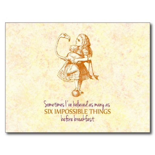 Alice In Wonderland Postcard Zazzle Com Alice In Wonderland