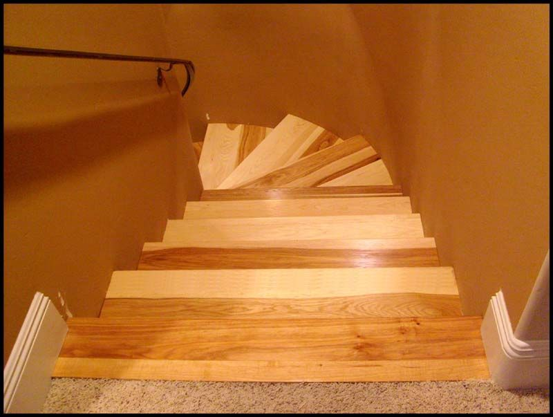 Http://www.contractortalk.com/attachments/f10/12696d1226244661 Hickory Stair  Treads Fromtop   House Stuff   Pinterest   Railings, Staircases And  Lofts