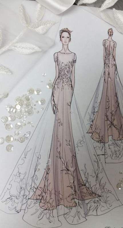 Photo of Fashion Sketches Wedding Style 16+ Ideas For 2019