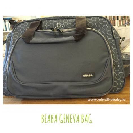 Changing bag porn! Beaba Geneva baby changing bag.