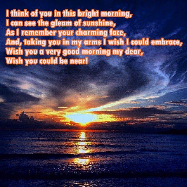 Good Morning Your Beautiful Poems : Good morning beautiful poem pinterest