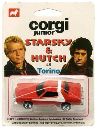 Hutch' Ford Gran From And Corgi Juniors 'starsky TorinoToys ARj4L5