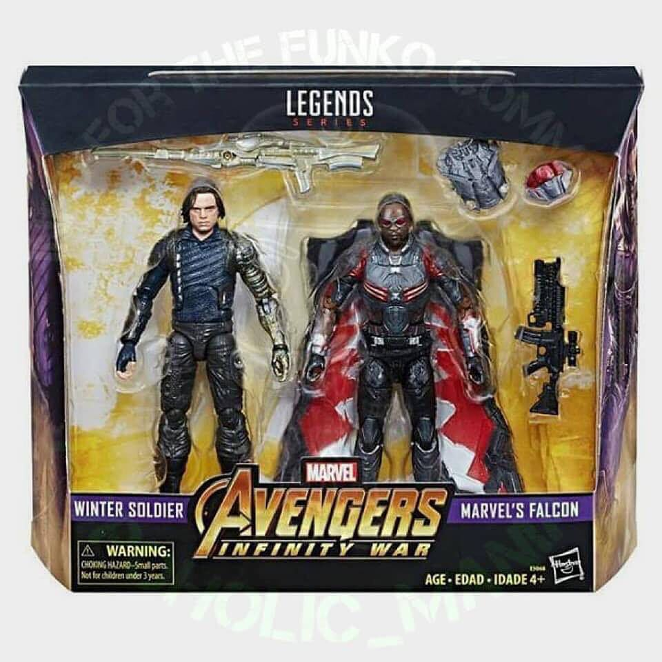 "Marvel Legends Falcon Civil War Walmart Exclusive 6/"" Loose Figure Complete"